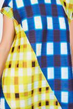 Trek Check Midi Dress