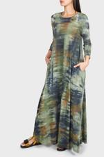 Drama Maxi Tie-Dye Dress