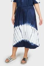 Tie-Dye Midi Skirt