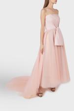Strapless Blush Pink Gown