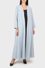 Open Front Abaya Coat