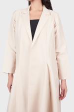 A Line Cut Abaya Coat