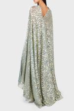 Coppelia Aquagold Voile Dress