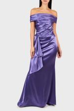 Donya Crepe Satin Dress