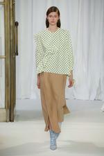 Straight Midi Skirt with Slits