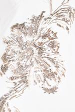 Marilena Embroidered Cape Dress