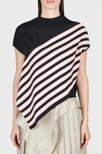Aili Shortsleeve Striped Top