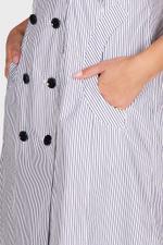 Double Stripe Midi Dress