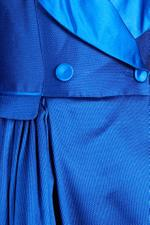 Off-Shoulder Tuxedo Gown