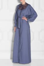 Lace Chambray Kaftan