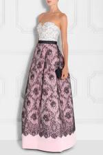 Lace Bandeau Gown