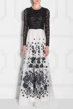 Woven Lace Dress