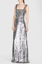 Bustier Sequinned Dress