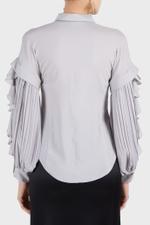 Moldavite Pleated Shirt