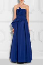 Bustier Belted Gown