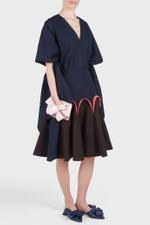 Poplin Godet Skirt