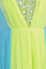 Bicolour Gown