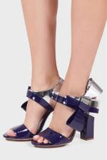 Patent Leather Bow Sandals