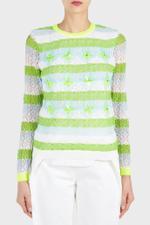 Lace Knit Sweater