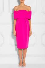 Neoprene Strapless Dress