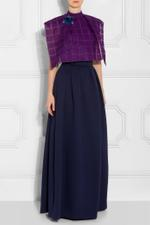 Neoprene Maxi Skirt