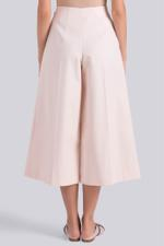 Cotton Flared Pants