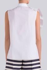 Pin Tuck Fan Shirt