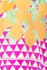 Printed Lemon Top