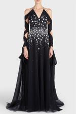 Star Embellished Gown