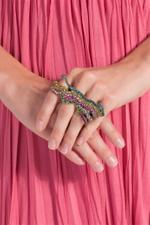 Two Finger Colour Ring