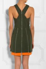 Cross Over Zip Dress