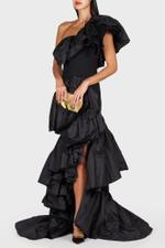 Delighted Ruffle Gown