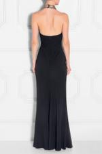 Halter Neck Embellished Gown