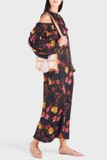 Charlotte Print Cold-Shoulder Dress