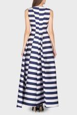 Stripy Sleeveless Gown