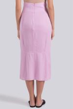 Jenna A-Line Midi Skirt