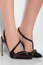 La Troublante Embellished High Heels