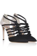 Multi Strap Bow Heels