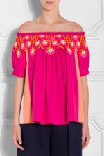 Panelled Cotton Top