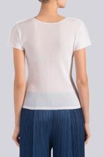 Mist Basic Short Sleeve Top
