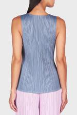 Glass Color Sleeveless Top