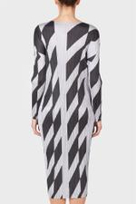 Diagonal Lines Dress