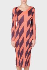 Diagonal Lines Dress