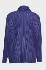Shiny Pleats Jacket