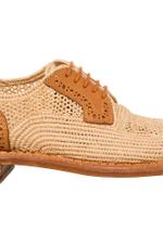 Jeanine Raffia Shoes