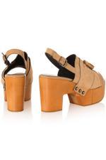 Clara Leather Platform Sandals
