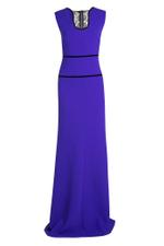 Dalmon Deep Neckline Gown