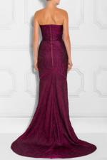 Turret Bustier Gown