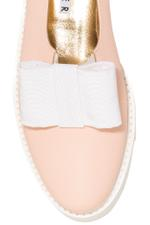 Patent Loafer With Bow