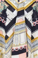 Obelisk Printed Skirt